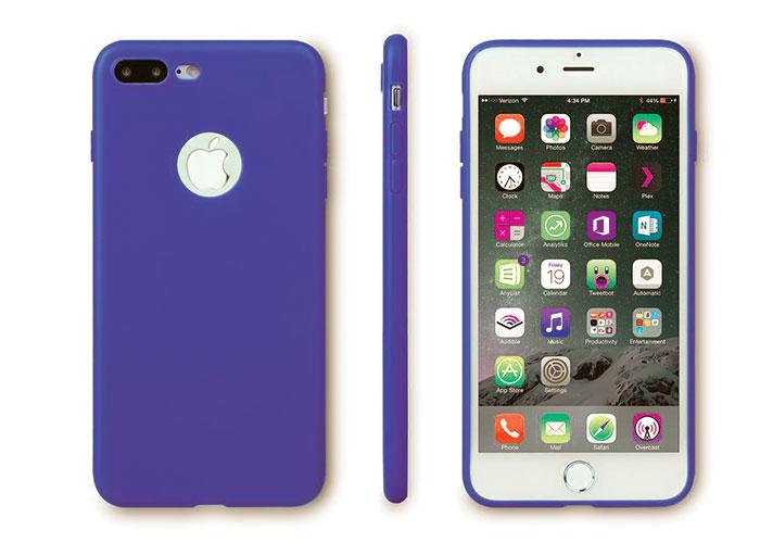 Addison IP-705 Deniz Mavisi iPhone7 Plus Parlak-Mat Seri Koruma Kılıfı