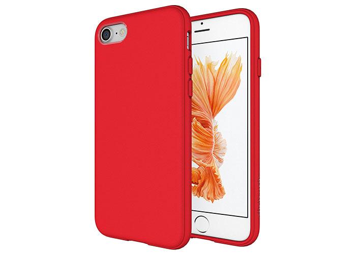 Addison IP-705 Kırmızı iPhone7 Parlak-Mat Seri Koruma Kılıfı
