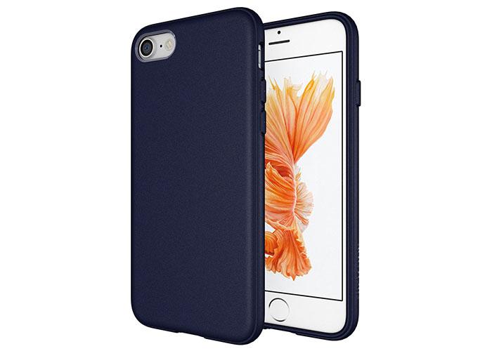 Addison IP-705 Deniz Mavisi iPhone7 Parlak-Mat Seri Koruma Kılıfı