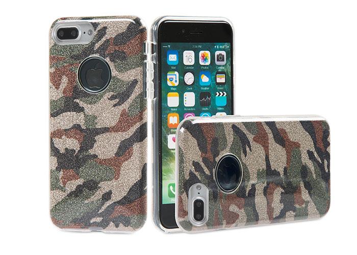 Addison IP-716P Shine Kamufilaj Seri iPhone7 Plus Koruma Kılıfı