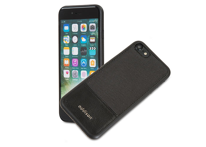 Addison IP-718 Black iPhone7 Style Magnetic Protection Cover Case