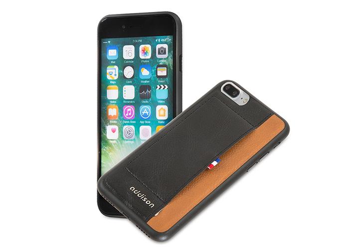 Addison IP-720P Siyah iPhone7 Plus Stil Serisi Koruma Kılıfı