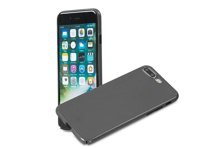 Addison IP-721P Metallic Gray iPhone7 Plus Nano Series Protection Case