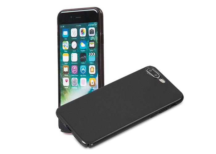 Addison IP-721P Metalik Siyah iPhone7 Plus Nano Serisi Koruma Kılıfı