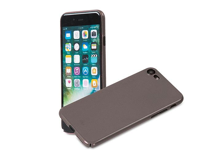 Addison IP-721 Metalik Gri iPhone7 Nano Serisi Koruma Kılıfı