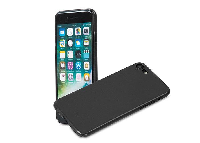 Addison IP-721 Metalik Siyah iPhone7 Nano Serisi Koruma Kılıfı