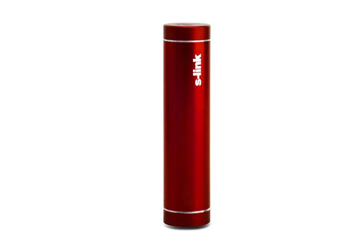 S-link IP-725 Kırmızı 2600mAh Powerbank Şarj Aleti Taşınabilir Pil Şarj Cihazı