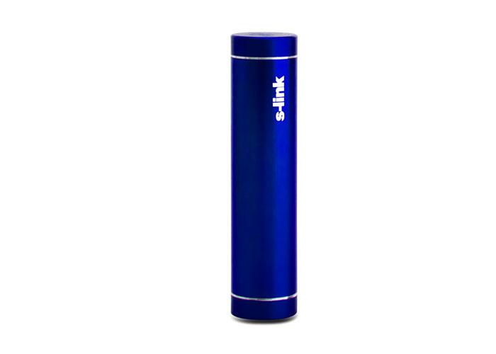 S-link IP-725 Mavi 2600mAh Powerbank Şarj Aleti Taşınabilir Pil Şarj Cihazı