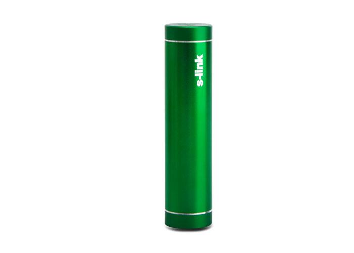 S-link IP-725 Green 2600mAh Powerbank Charger Charging Powerbank  / Power Pack