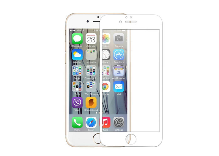 Addison IP-751 Tempered Glass 0.3mm Beyaz iPhone 6 4.7 Cam Ekran Koruyucu