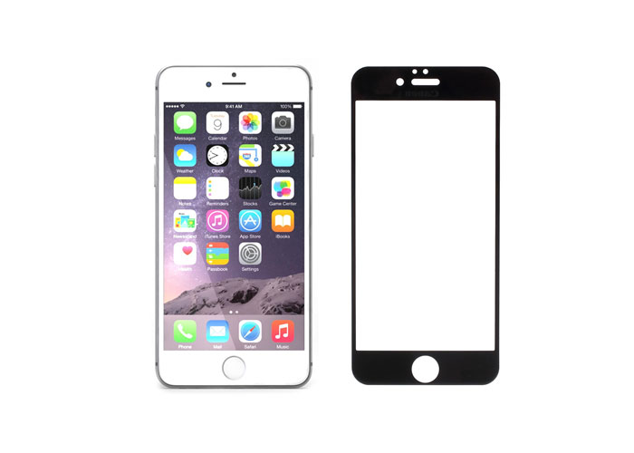 Addison IP-752 Tempered Glass 0.3mm Siyah iPhone 6 Plus 5.5 Cam Ekran Koruyucu