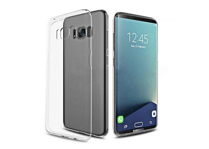 Addison IP-858 Kristal Samsung Galaxy S8 Ultra İnce Koruma Kılıfı