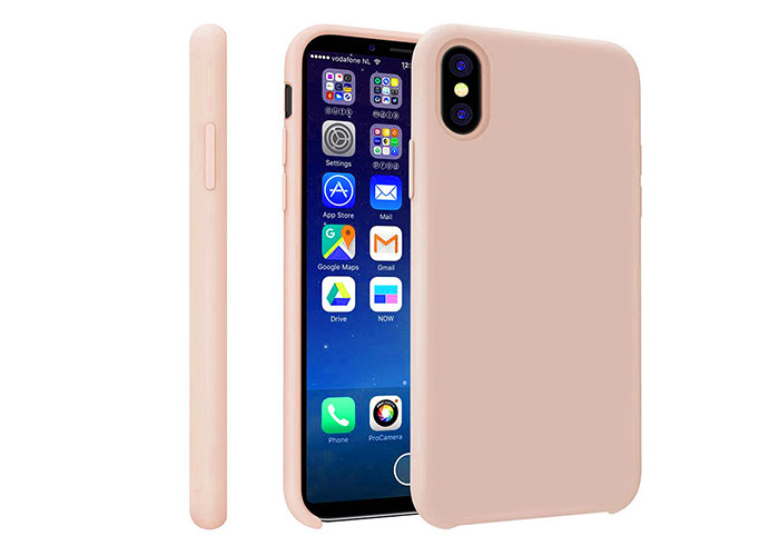 Addison IP-881 Gold iPhone X Soft Telefon Kılıfı