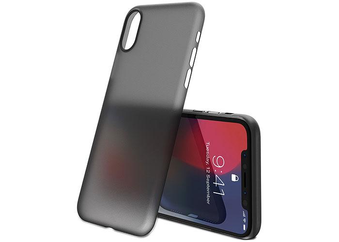 Addison IP-884 Şeffaf Siyah iPhone X Telefon Kılıfı