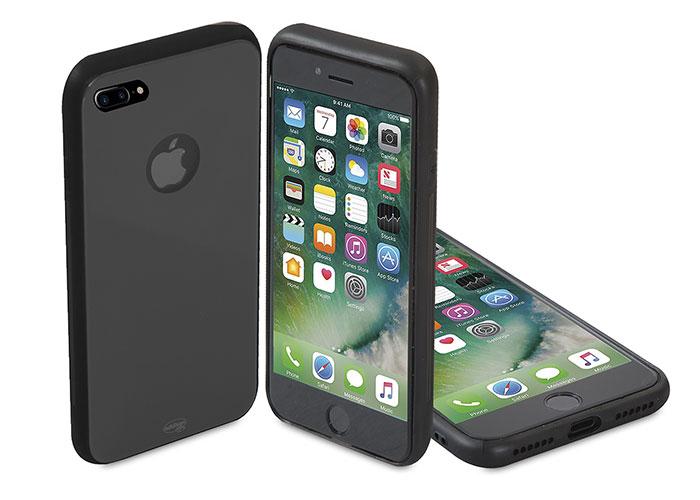 Addison IP-886P Black iPhone 7 Plus Glass Phone Cover