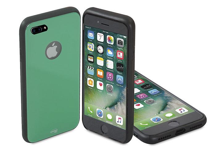 Addison IP-886P Yeşil iPhone 7 Plus Glass Telefon Kılıfı