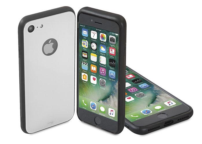 Addison IP-886 Beyaz iPhone 7 Glass Telefon Kılıfı