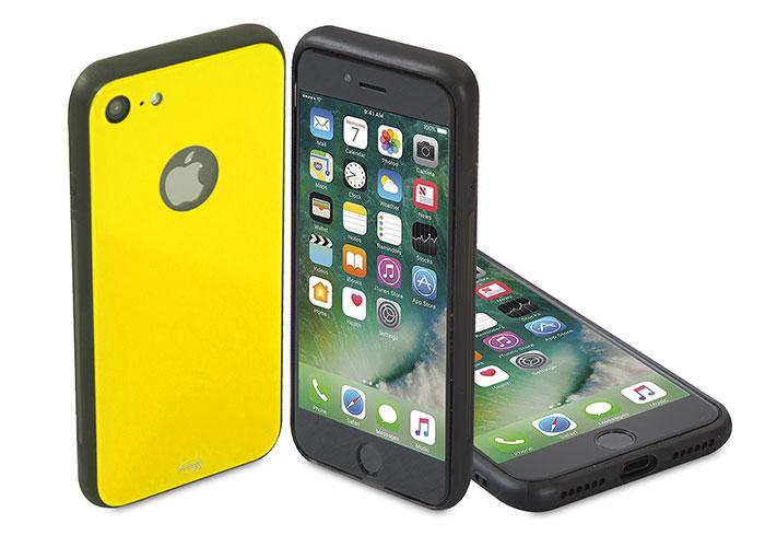 Addison IP-886 Sarı iPhone 7 Glass Telefon Kılıfı