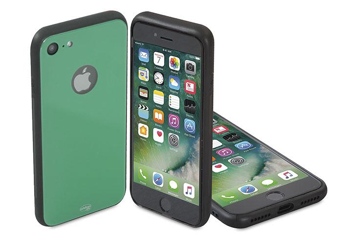 Addison IP-886 Yeşil iPhone 7 Glass Telefon Kılıfı