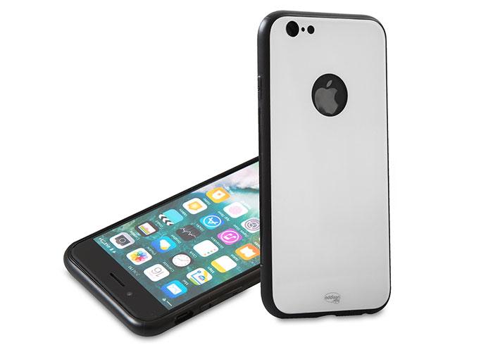 Addison IP-887S Beyaz iPhone 6/6S Glass Telefon Kılıfı