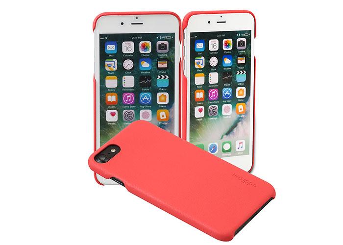 Addison Ip-889 İnce İz Yapmaz Kırmızı iPhone 7/8 Telefon Kılıfı