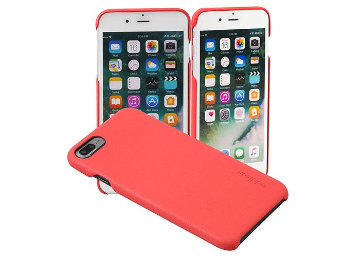 Addison IP-889P İnce İz Yapmaz Kırmızı İPhone 7/8 Plus Telefon Kılıfı