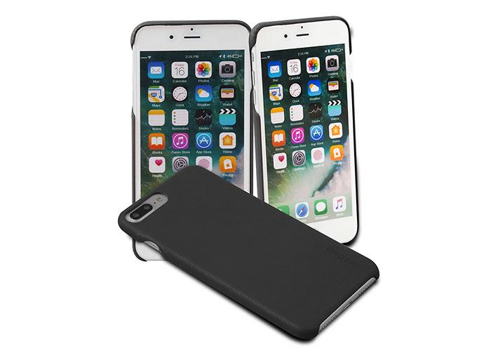 Addison IP-889P İnce İz Yapmaz Siyah İPhone 7/8 Plus Telefon Kılıfı