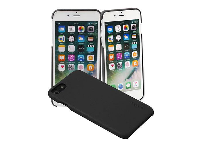Addison Ip-889 İnce İz Yapmaz Siyah iPhone 7/8 Telefon Kılıfı