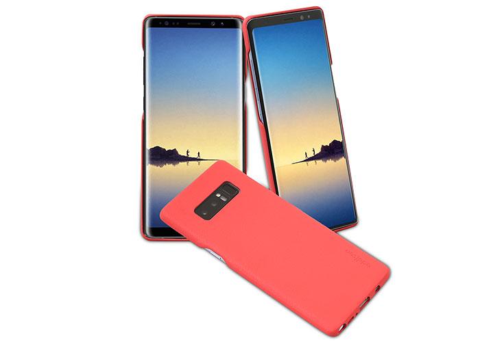 Addison IP-891 Slim No fingureprint   Red Samsung Note8 Phone Case