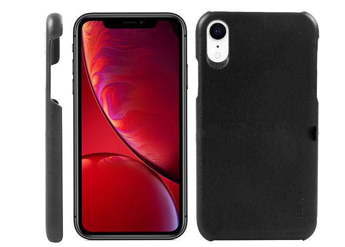 Addison IP-895 İnce İz Yapmaz Siyah Iphone XR Telefon Kılıfı