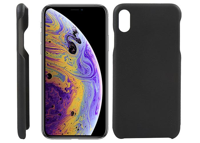 Addison IP-896 İnce İz Yapmaz Siyah Iphone XS Max Telefon Kılıfı