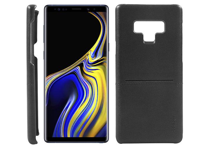 Addison IP-900 Siyah Samsung Note 9 Deri Kılıf