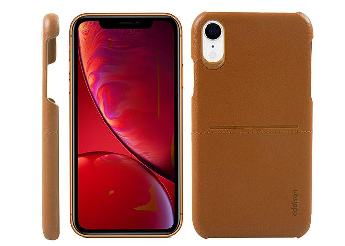 Addison IP-902 Kahverengi Iphone XR Deri Telefon Kılıfı