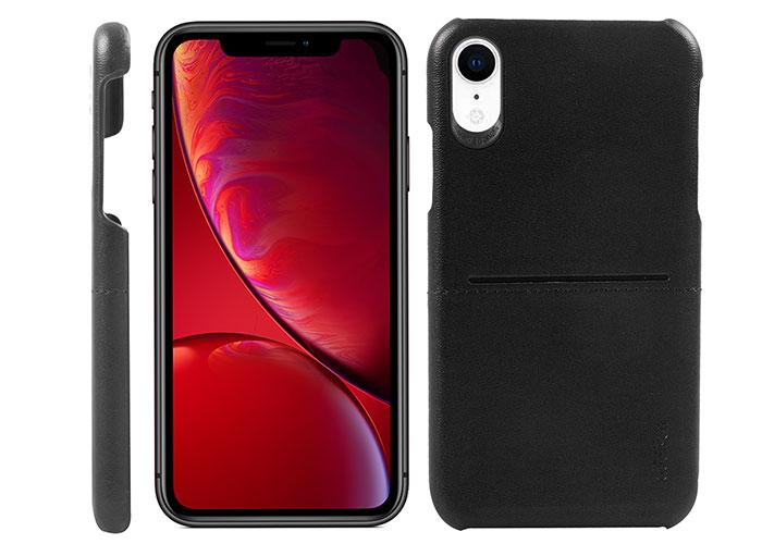Addison IP-902 Siyah Iphone XR Deri Telefon Kılıfı