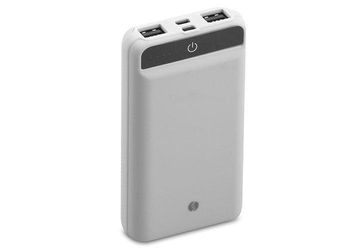 S-link IP-958 10000mAh Powerbank Dokunmatik Led Lamba Beyaz Taşınabilir Pil Şarj Cihazı
