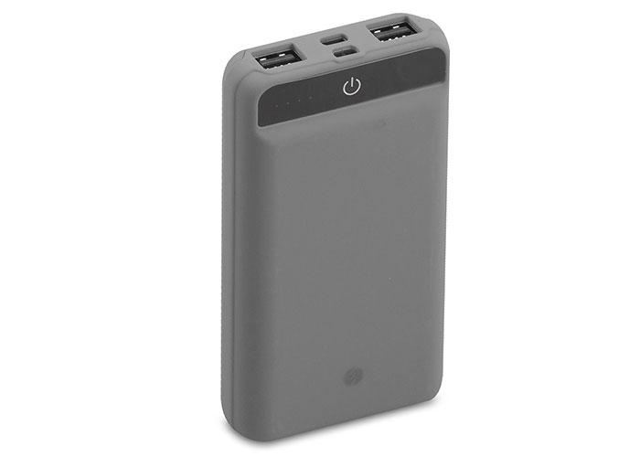 S-link IP-958 10000mAh Powerbank Dokunmatik Led Lamba Gri Taşınabilir Pil Şarj Cihazı