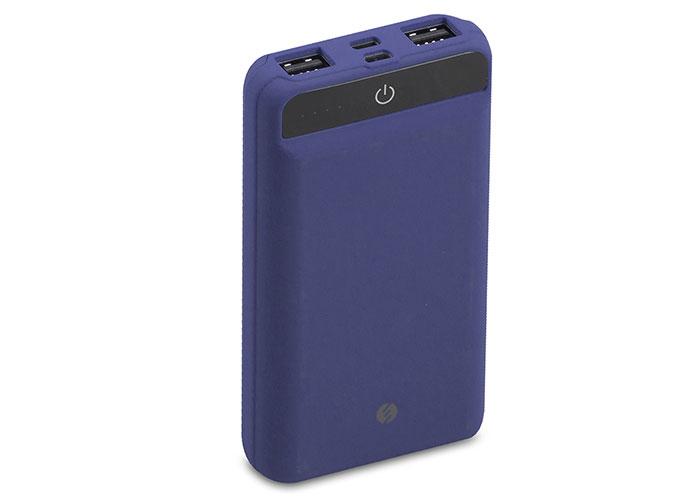 S-link IP-958 10000mAh Powerbank Dokunmatik Led Lamba Mavi Taşınabilir Pil Şarj Cihazı