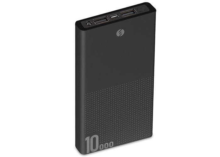 S-link IP-A100 10000mAh Powerbank Siyah Taşınabilir Pil Şarj Cihazı