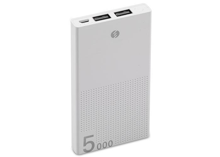 S-link IP-A50 5000mAh Powerbank Beyaz Taşınabilir Pil Şarj Cihazı