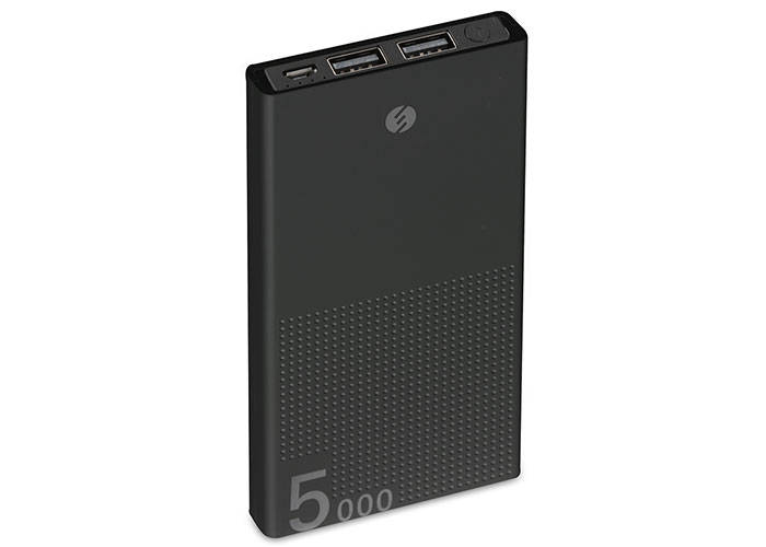 S-link IP-A50 5000mAh Powerbank Siyah Taşınabilir Pil Şarj Cihazı