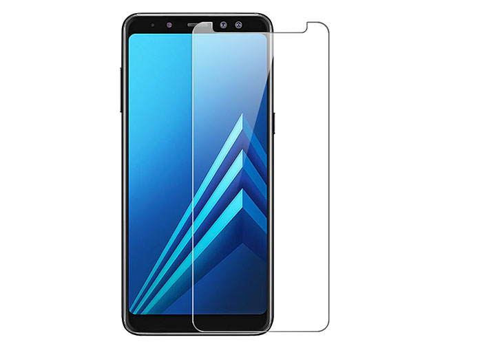 Addison IP-A82018 Tempered Glass 0.33mm 2.5D Samsung Galaxy A8 2018 Cam Ekran Koruyucu