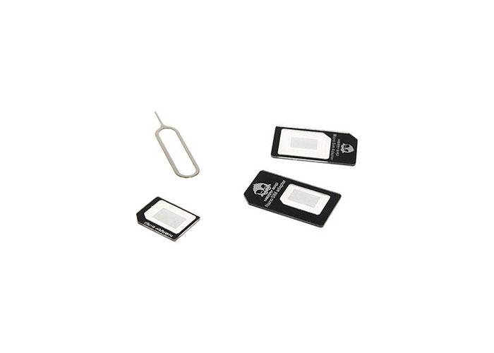 Addison IP-AD10 Mikro+Nano iPhone 4/5/6 Uyumlu 4in1 Sim Kart Dönüştürücü
