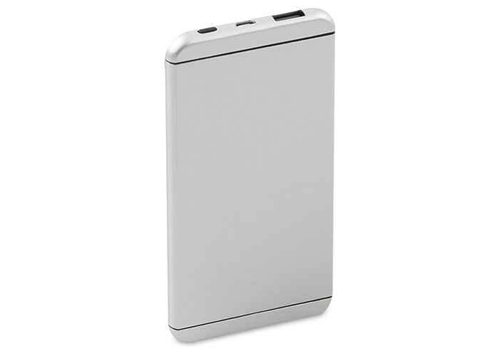 S-link IP-C50 5000mAh Super Slim Gümüş Metal Kasa Powerbank Taşınabilir Pil Şarj Cihazı
