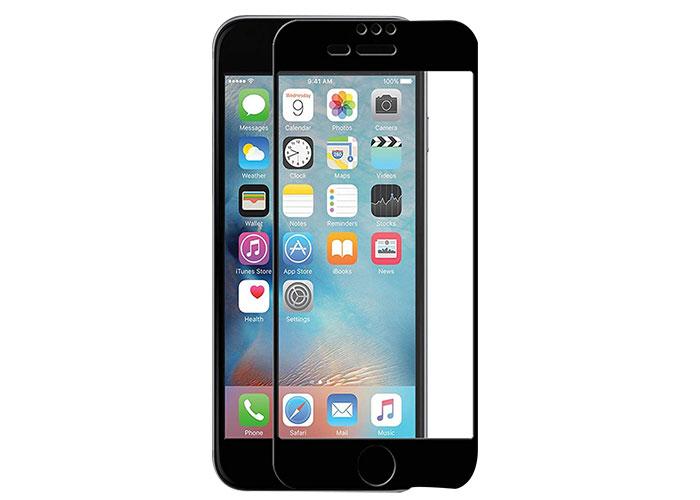 Addison IP-C802 Siyah iPhone 7/8 Plus Full Cover Cam Ekran Koruyucu