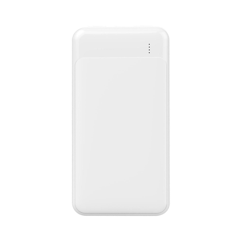 S-link IP-D27 10000mAh 2*Usb Port+Micro+Type C Powerbank Beyaz Taşınabilir Pil Şarj Cihazı