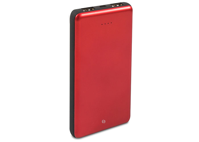 S-link IP-G10A 10000mAh Powerbank 2 Usb Port Kırmızı Taşınabilir Pil Şarj Cihazı