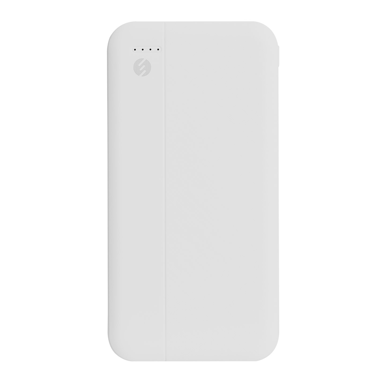 S-link IP-G10D 10000mAh Micro+Type C Girişli Powerbank 2 Usb Port Beyaz Taşınabilir Pil Şarj Cihazı