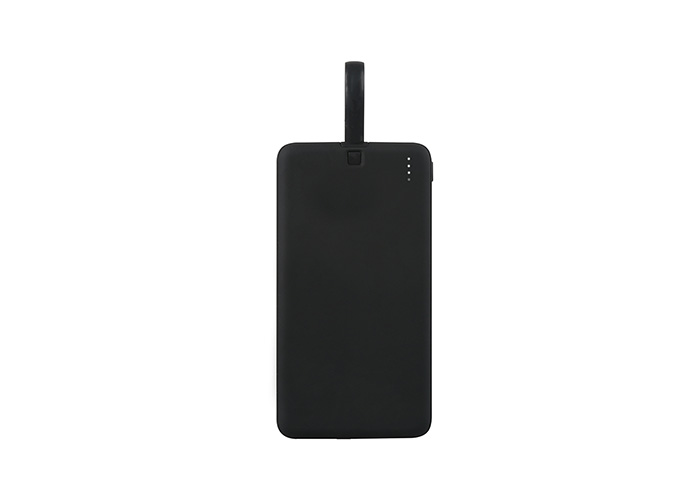 S-link IP-G10L 10000mAh 1 Usb Port 2 in 1 Kablo Powerbank Siyah Gizli Ledli Taşınabilir Pil Şarj Cihazı