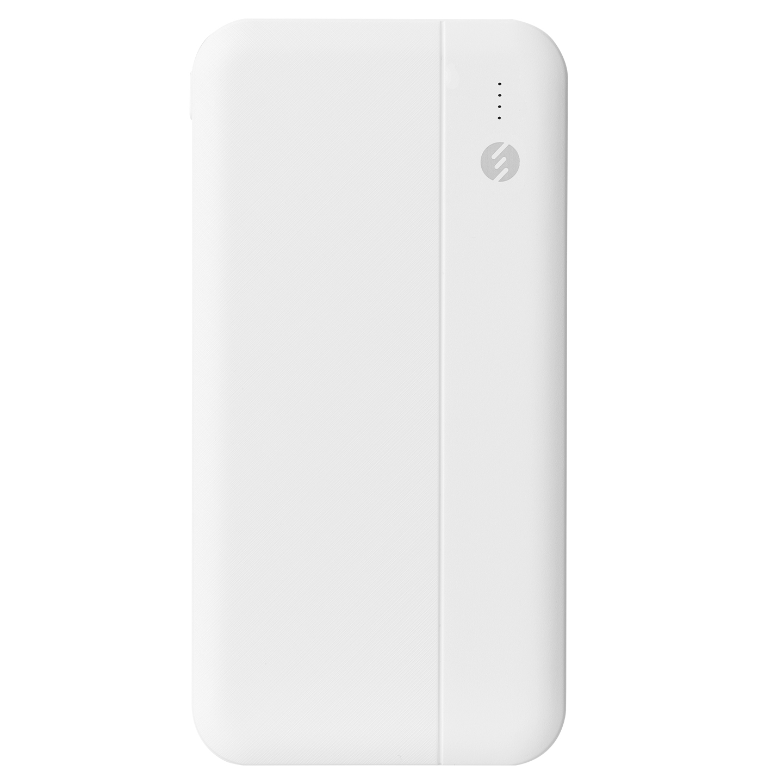 S-link IP-G10N 10000mAh Micro+Type C Girişli Powerbank Beyaz Taşınabilir Pil Şarj Cihazı