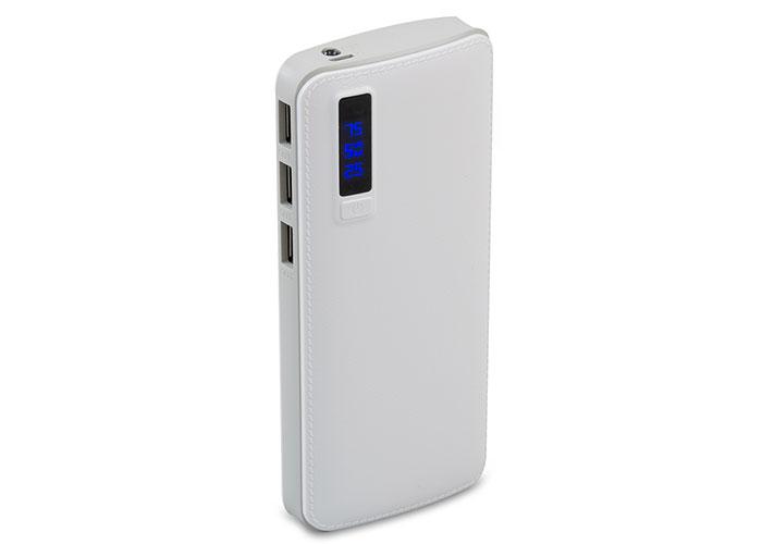 S-link IP-G114 10000mAh Powerbank Beyaz Taşınabilir Pil Şarj Cihazı